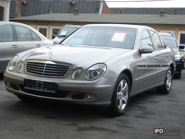 2003 mercedes benz e 220 cdi automatic klimaaut elktr gsd navi car photo and specs. Black Bedroom Furniture Sets. Home Design Ideas