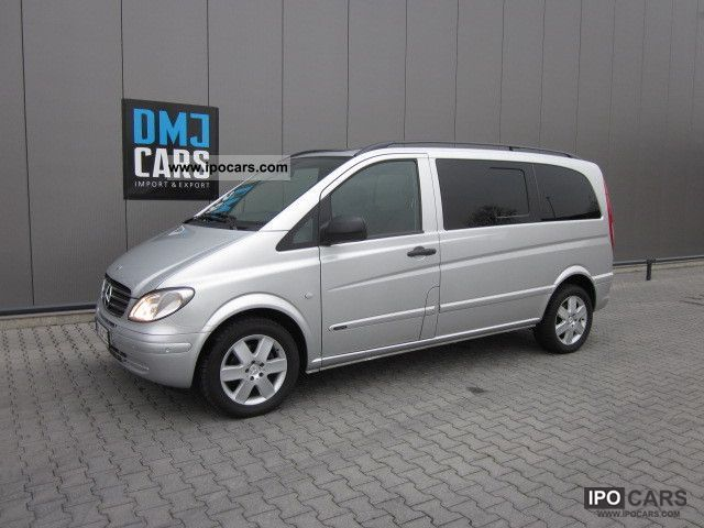 2009 mercedes benz vito 111 cdi compact dpf navi air roof car photo and specs. Black Bedroom Furniture Sets. Home Design Ideas