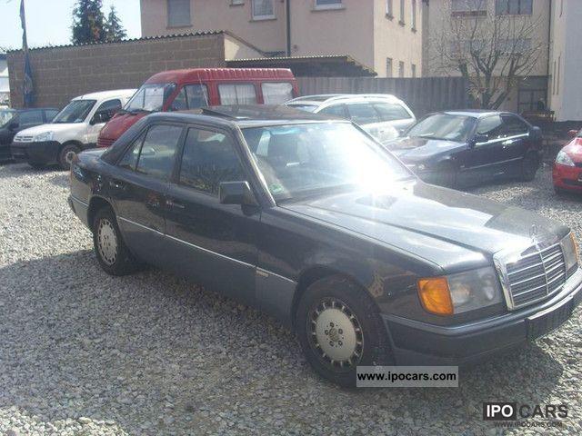 1989 Mercedes-Benz 300 E 1990 model Vollausstatung Full Full