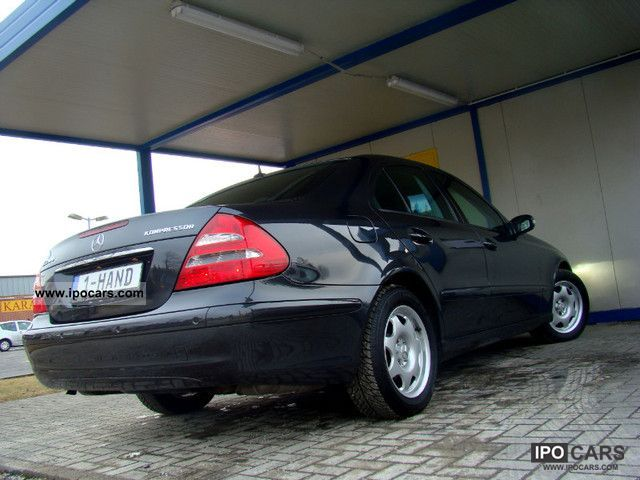 Mercedes-Benz  E 200 Com, Xenon, PDC, Sitzh, LPG 2005 Liquefied Petroleum Gas Cars (LPG, GPL, propane) photo