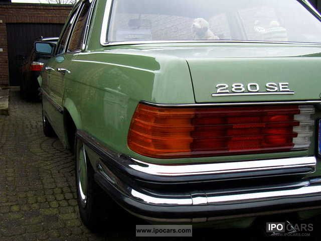 1973 Mercedes-Benz  S 280 SE Leather Automatic climate Limousine Classic Vehicle photo