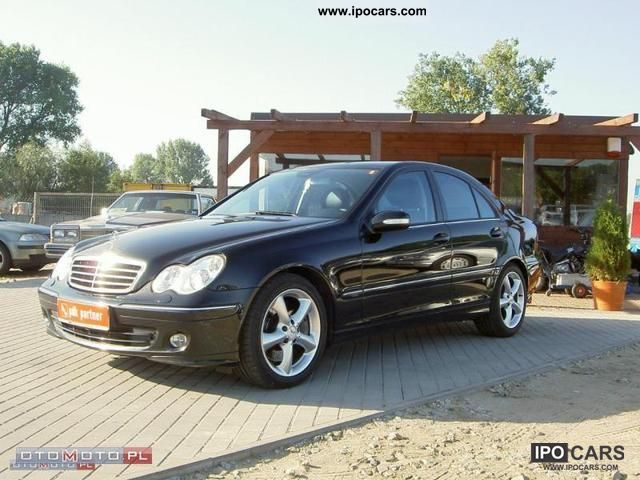 2005 mercedes benz c 220 cdi 150km full opcja avantgard car photo and specs. Black Bedroom Furniture Sets. Home Design Ideas