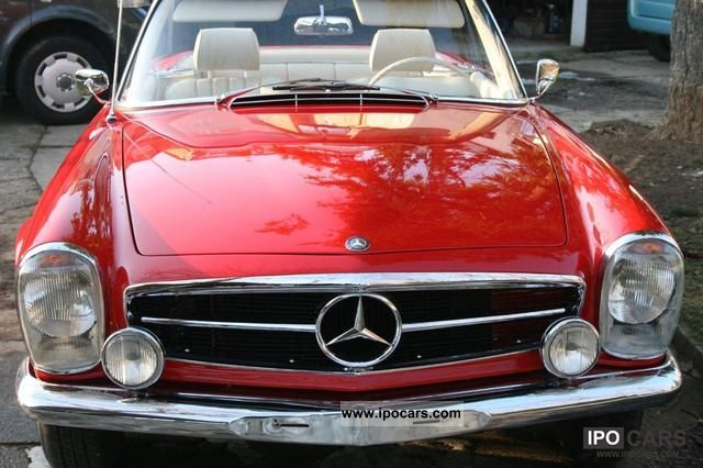 Mercedes-Benz  SL 280 1967 Vintage, Classic and Old Cars photo
