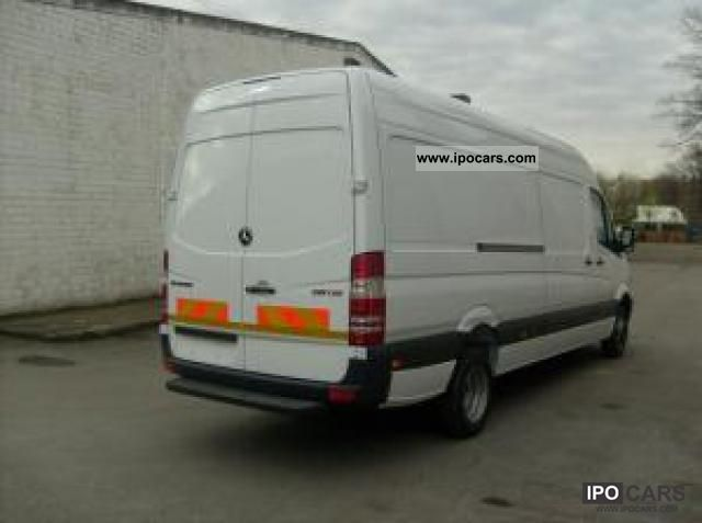 2011 Mercedes Benz Sprinter 519 Cdi 140kw 190ps