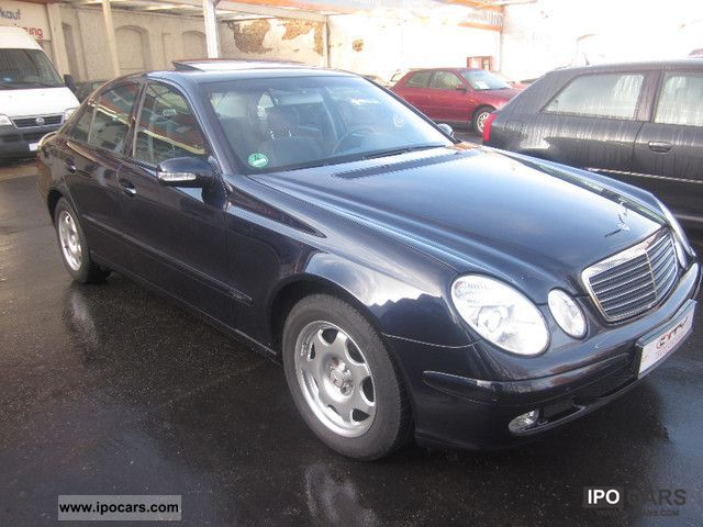 2003 mercedes benz e 220 cdi classic auto dpf 1 hand car photo and specs. Black Bedroom Furniture Sets. Home Design Ideas