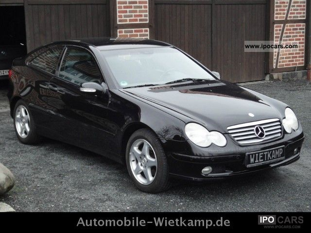 2003 Mercedes Benz C 180 K Sports Coupe Car Used Vehicle Photo