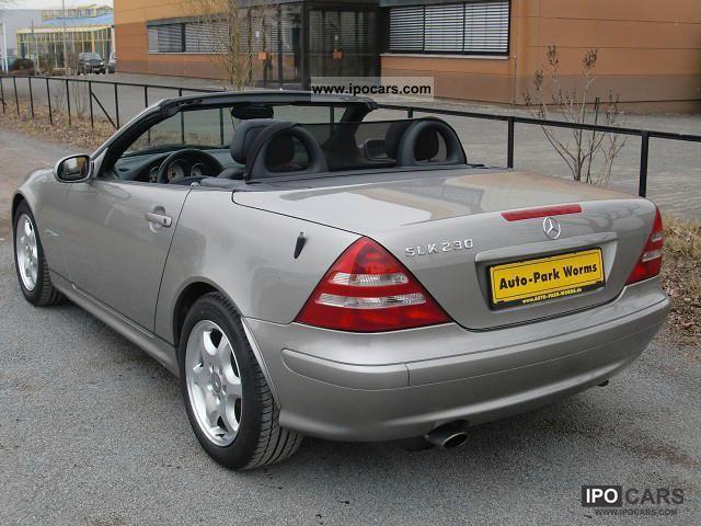 2003 Mercedes Benz Slk 230 Kompressor Air Leather Seats