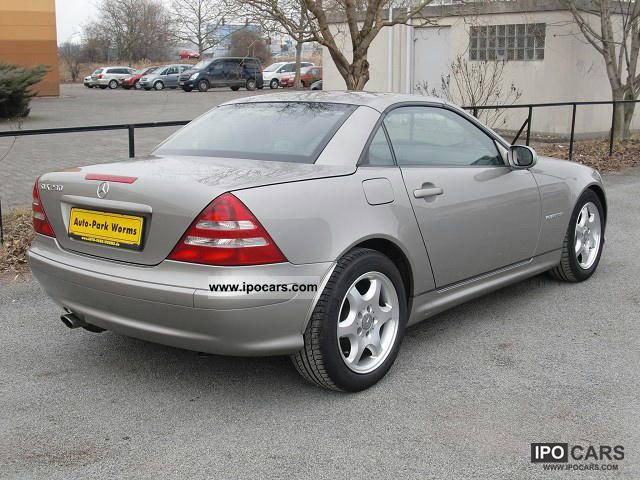 2003 mercedes benz slk 230 kompressor air leather seats. Black Bedroom Furniture Sets. Home Design Ideas