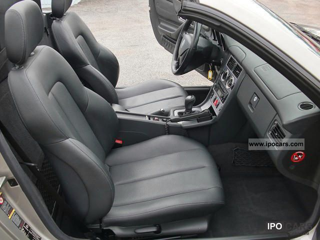 2003 mercedes benz slk 230 kompressor air leather seats for Mercedes benz leather seats