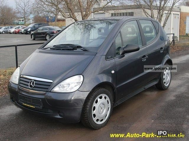 1999 mercedes benz a 160 air car photo and specs. Black Bedroom Furniture Sets. Home Design Ideas