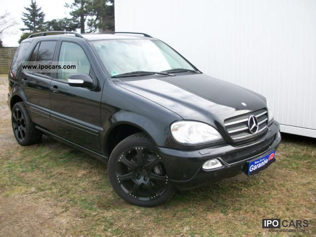 Mercedes-Benz  ML350 * XENON * LEATHER * LPG AUTO GAS * German FZG. ! 2003 Liquefied Petroleum Gas Cars (LPG, GPL, propane) photo