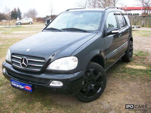 2003 mercedes benz ml350 xenon leather lpg auto gas for 2003 mercedes benz ml 350