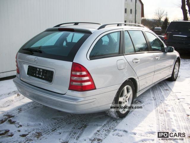 2002 mercedes benz c 240 avantgarde t climate sitzhzg for Mercedes benz c 240