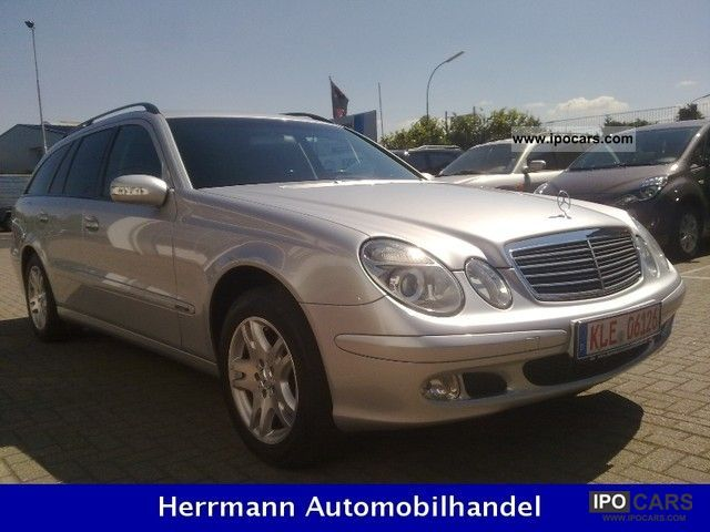 2003 mercedes benz e 220 cdi pdf car photo and specs. Black Bedroom Furniture Sets. Home Design Ideas