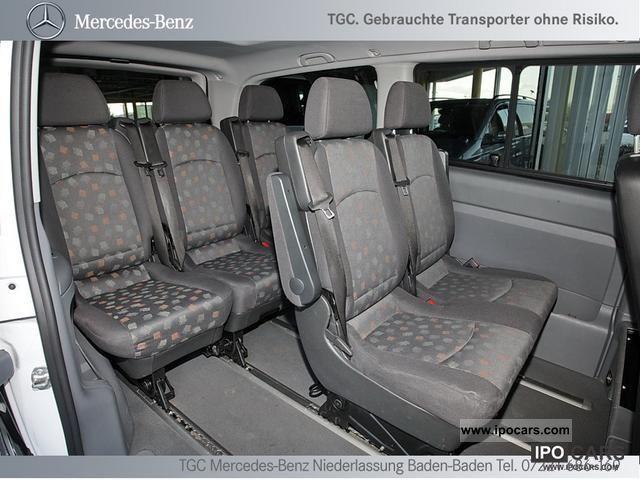 2008 Mercedes Benz Vito 109 Long Kbi 8 Seats Ahk Dpf Car