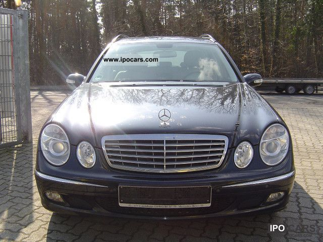 2005 mercedes benz e 280 cdi elegance car photo and specs. Black Bedroom Furniture Sets. Home Design Ideas