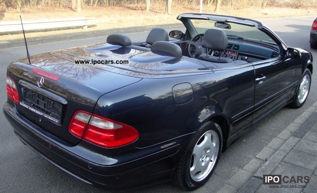 2000 mercedes benz clk 200 elegance car photo and specs. Black Bedroom Furniture Sets. Home Design Ideas