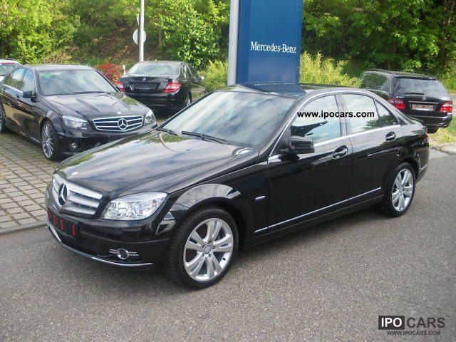 2010 mercedes benz c 180 cgi blueefficiency avantgarde car photo and specs. Black Bedroom Furniture Sets. Home Design Ideas