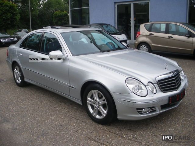 2007 mercedes benz e 220 cdi avantgarde automatic sunroof dpf car photo and specs. Black Bedroom Furniture Sets. Home Design Ideas