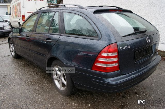 2003 mercedes benz c 200 t cdi automatic ssd klimaaut net 4599 car photo and specs. Black Bedroom Furniture Sets. Home Design Ideas