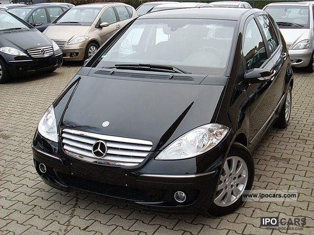 2007 mercedes benz a 150 elegance automatic 42 000 miles car photo and specs. Black Bedroom Furniture Sets. Home Design Ideas