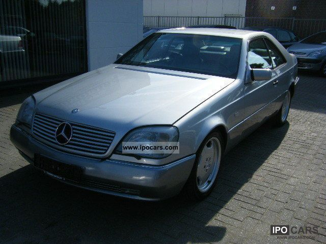 1996 mercedes benz cl 500 air leather sunroof amg for Mercedes benz leather