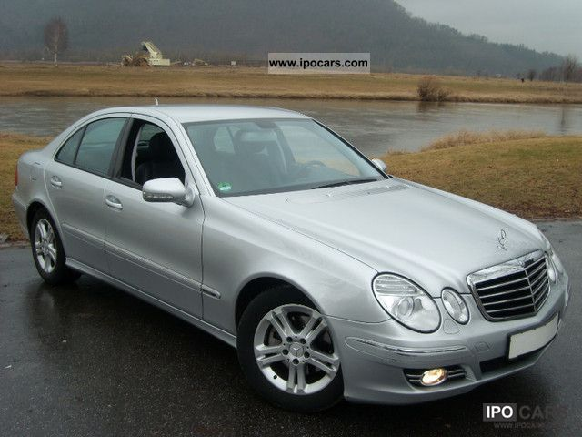 2006 mercedes benz e 220 cdi avantgarde auto dpf incl vat car photo and specs. Black Bedroom Furniture Sets. Home Design Ideas