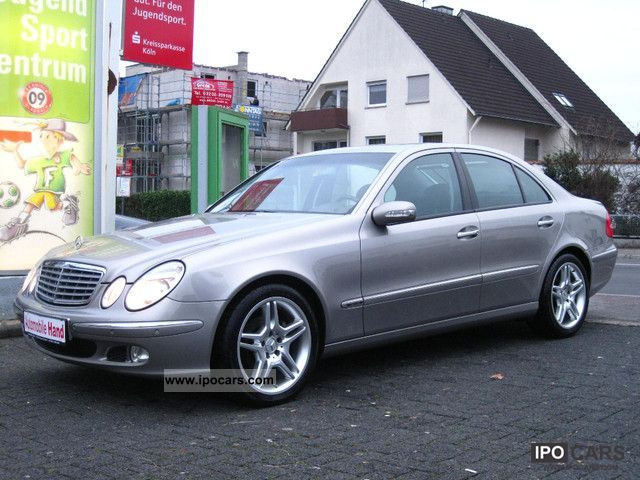 2004 Mercedes-Benz  E 320CDI VOLLAUSSTATUNG!! Limousine Used vehicle photo