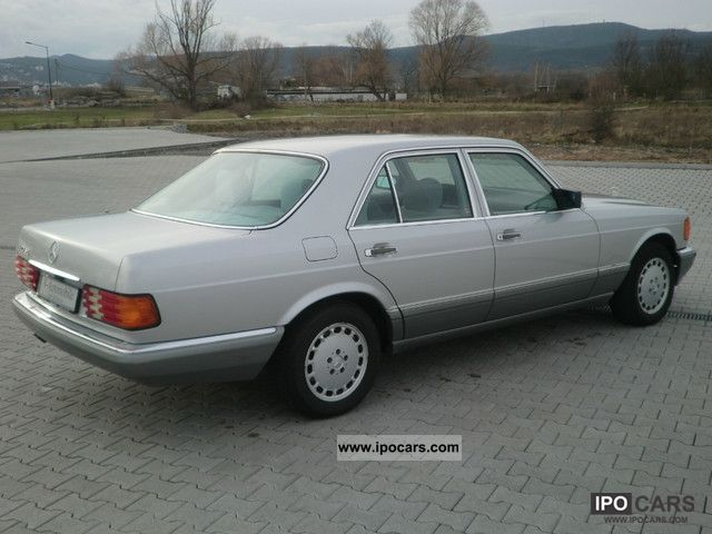 1988 Mercedes Benz 420 Se Maintained Gray Velor Air Car Photo And Specs
