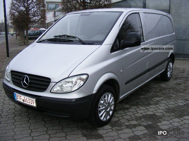 2004 mercedes benz vito 111 cdi top condition car photo and specs. Black Bedroom Furniture Sets. Home Design Ideas