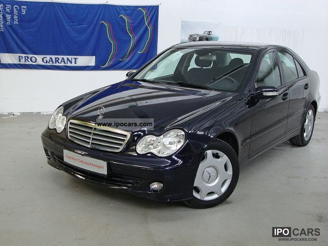 2005 Mercedes-Benz  * AUTOMATIC * C 180 Kompressor MERCEDES SERVICE BOOK Limousine Used vehicle photo