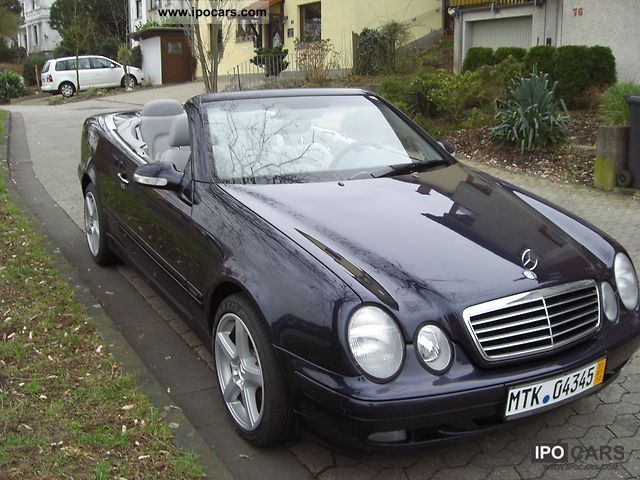 2002 Mercedes Benz Clk 320 Elegance Final Edition Car