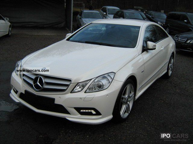 2010 mercedes benz e 350 cdi amg xenon blue ef navi. Black Bedroom Furniture Sets. Home Design Ideas