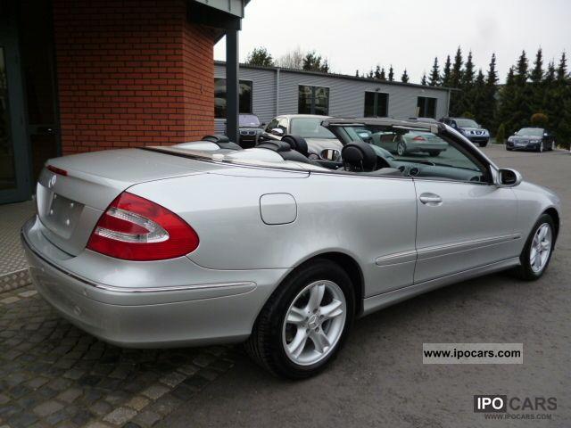 2004 mercedes benz clk 240 avantgarde 1 hand leather navi for Mercedes benz clk 240