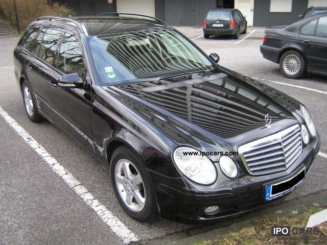 2006 mercedes benz e 220 cdi avantgarde dpf car photo and specs. Black Bedroom Furniture Sets. Home Design Ideas