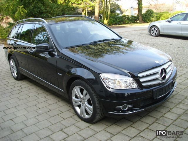 2010 mercedes benz c 200 t cdi avantgarde blue eff shd. Black Bedroom Furniture Sets. Home Design Ideas