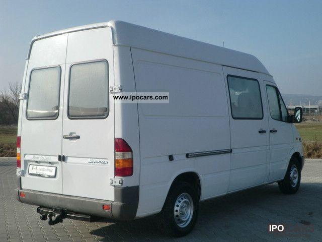 2002 mercedes benz 311 cdi sprinter 903 662 sprintshift. Black Bedroom Furniture Sets. Home Design Ideas