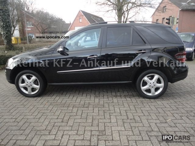 2007 mercedes benz ml 280 cdi 4matic 7g tronic sport comand package car photo and specs. Black Bedroom Furniture Sets. Home Design Ideas