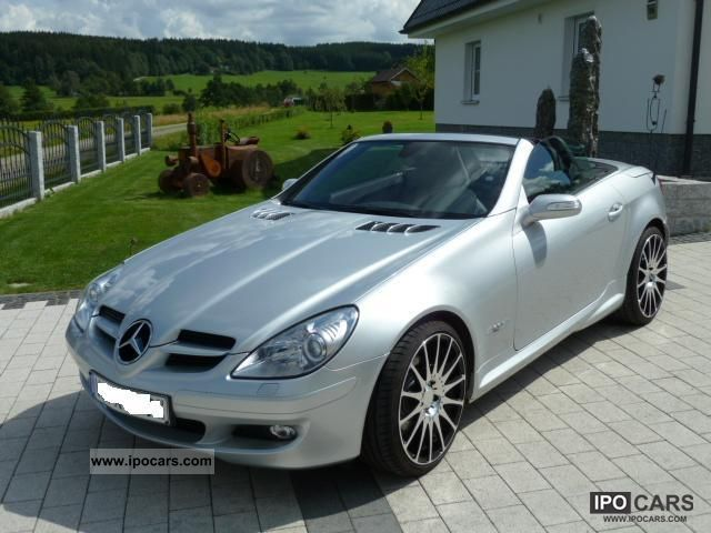 2004 mercedes benz slk 350 7g tronic full equipment. Black Bedroom Furniture Sets. Home Design Ideas