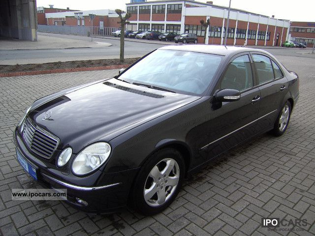 2004 Mercedes-Benz  E 320 Avangard * Navi * Climate * € 4 * Full Leather Sports car/Coupe Used vehicle photo