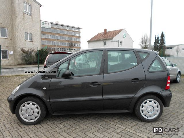 2001 mercedes benz a 160 cdi classic car photo and specs. Black Bedroom Furniture Sets. Home Design Ideas