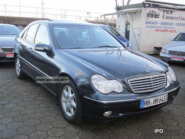 2002 Mercedes Benz C 200 Kompressor Car Photo And Specs