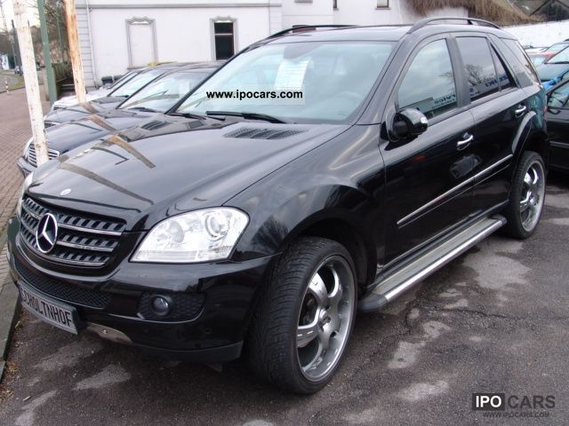 2006 Mercedes Benz Ml 320 Cdi 4matic 7g Tronic Off Road Vehicle Pickup Truck