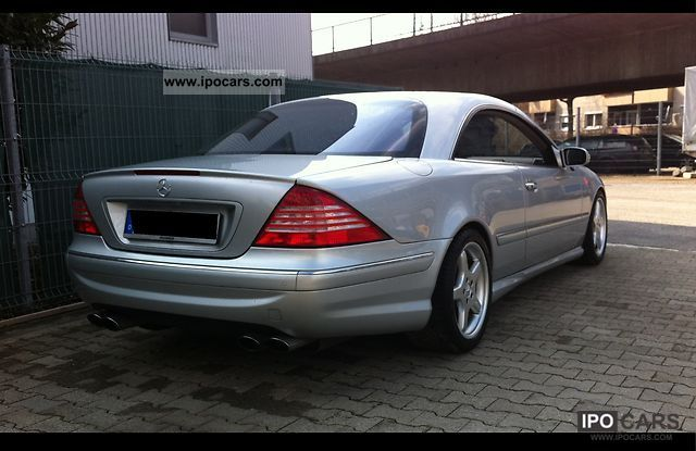 2003 Mercedes Benz Cl 500 Amg Package Car Photo And Specs