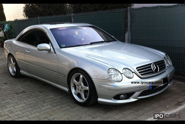 2003 mercedes benz cl 500 amg package car photo and specs. Black Bedroom Furniture Sets. Home Design Ideas
