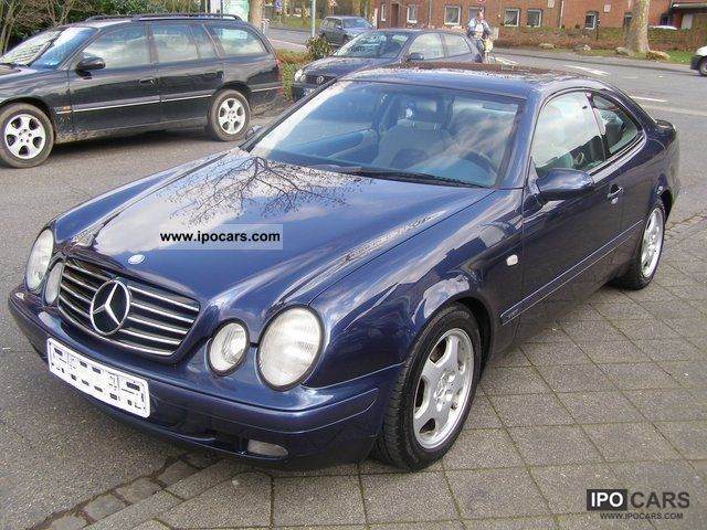 1997 mercedes benz clk 230 kompressor sport automatic climate push car photo and specs. Black Bedroom Furniture Sets. Home Design Ideas