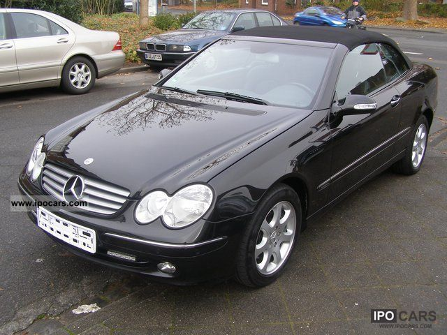 2003 mercedes benz clk 240 cabrio leather navi pdc for Mercedes benz clk 240