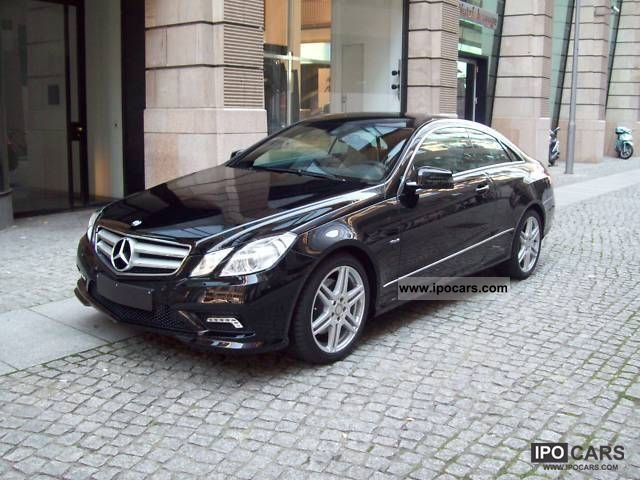 2011 mercedes benz e 350 cdi blueefficiency coupe dpf 7g tronic car photo and specs - Mercedes classe e coupe 350 cdi ...