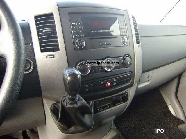 2008 mercedes-benz 315 cdi sprinter part-leather seats-6 + klimatr