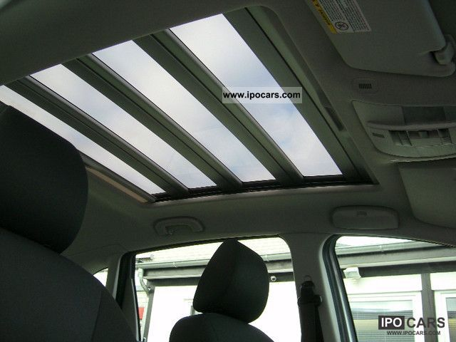2005 Mercedes-Benz B 170 air-glass panoramic roof Electr Mod